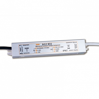 Zasilacz LED 12V/24V -10W IP67